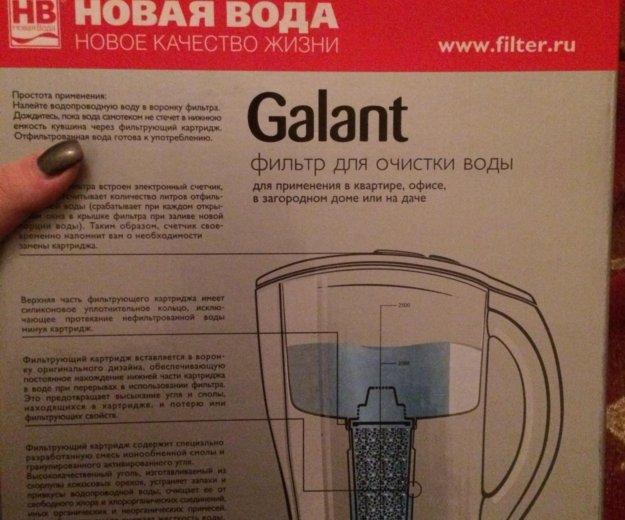 Фильтр для воды galant. Фото 2.