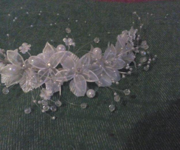Венок на голову для невесты. Фото 1. Егорьевск.