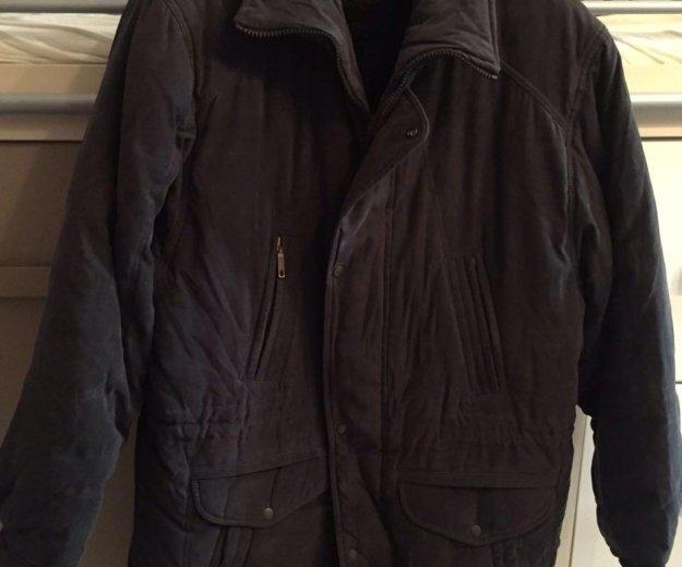 Новая зимняя мужская куртка с подкладкой из меха. Фото 1. Москва.