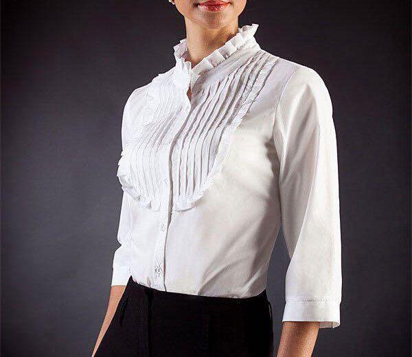 Белая блузка 46 размер. Фото 1. Санкт-Петербург.