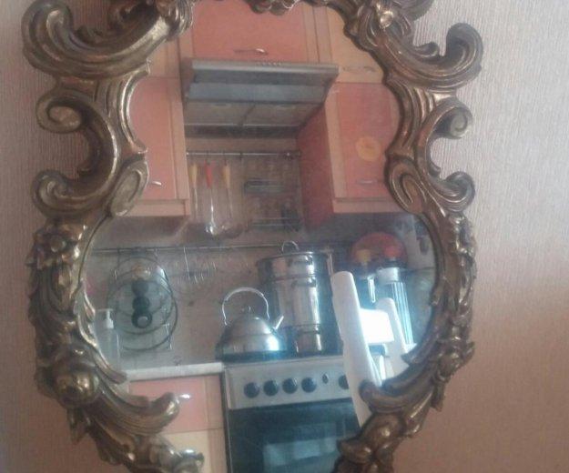 Старинное зеркало в бронзовой раме из франции. Фото 3. Санкт-Петербург.