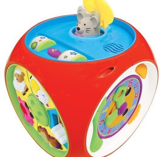 Развивающая игрушка kiddieland мультикуб. Фото 1. Москва.
