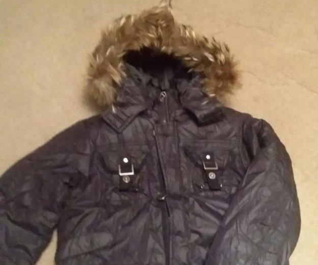 Зимняя куртка  на рост 140. Фото 1. Москва.