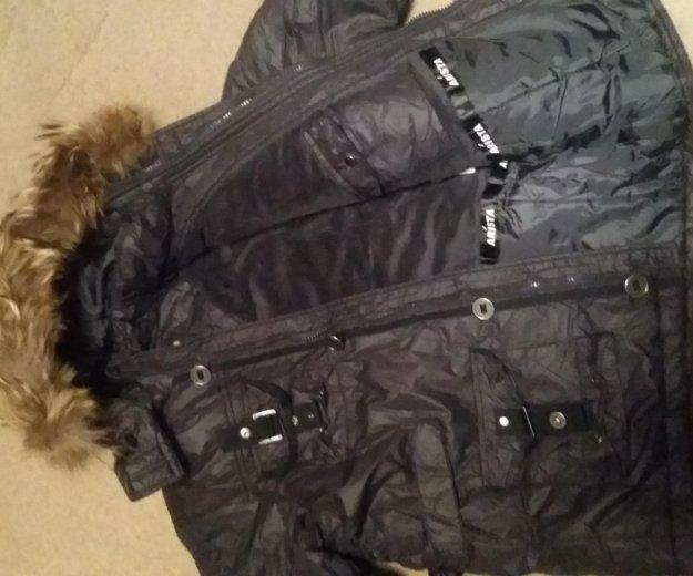 Зимняя куртка  на рост 140. Фото 3. Москва.
