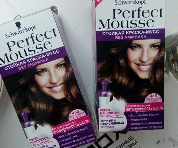 Краска мусс для волос. Фото 1.