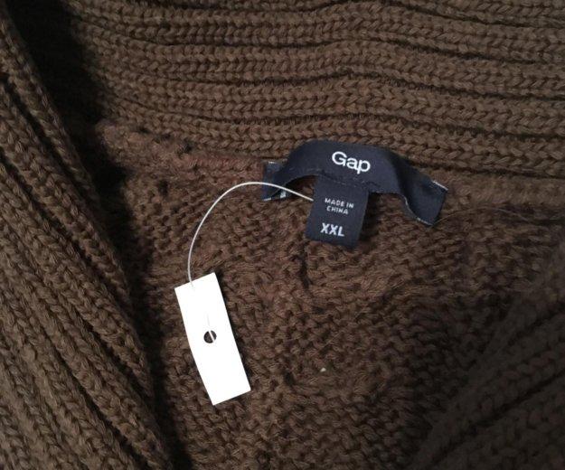 Новый вязаный свитер gap полувер. Фото 1. Москва.