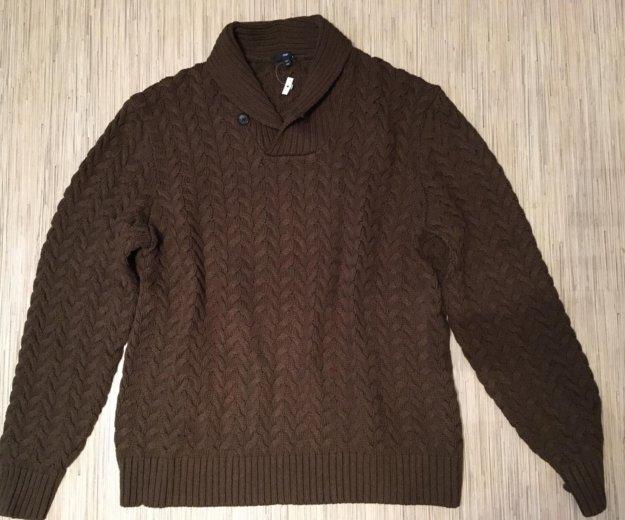 Новый вязаный свитер gap полувер. Фото 2. Москва.