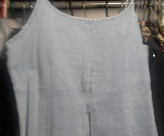 Топик джинсовый. Фото 2.