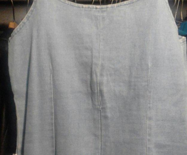 Топик джинсовый. Фото 3.