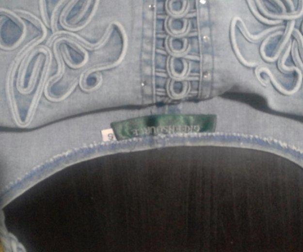 Топик джинсовый. Фото 4.