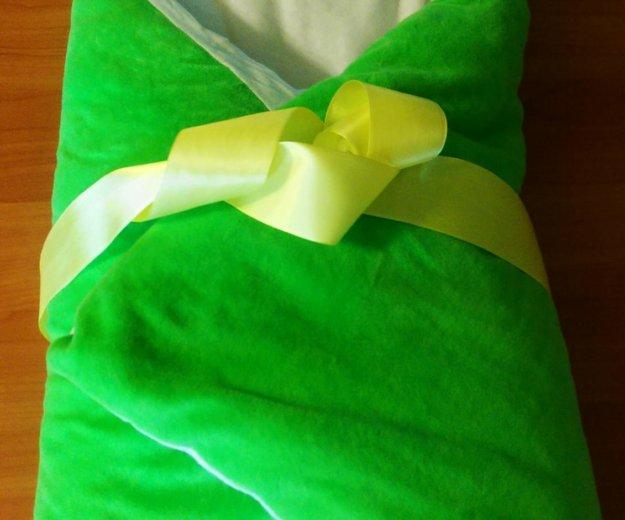 Очень теплый конверт плюс одеяло на выписку. Фото 1. Санкт-Петербург.