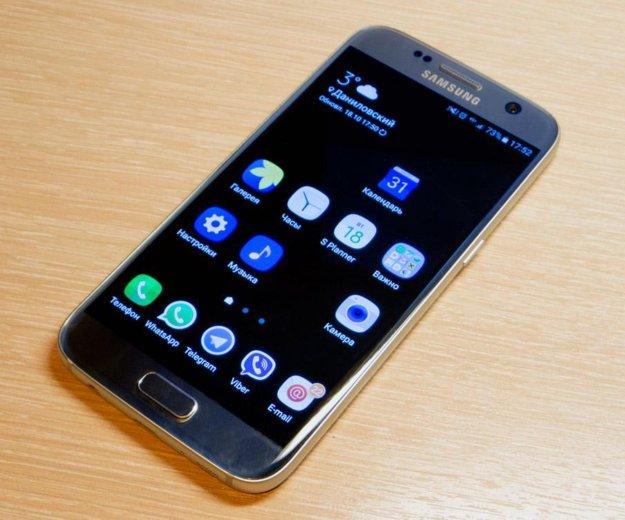 Samsung galaxy s7 32gb silver platinum. Фото 1.