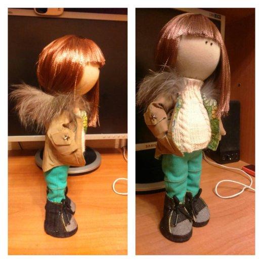 Кукла ручной работы. Фото 1. Ижевск.
