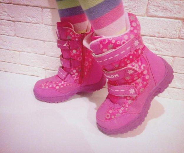 Ботинки зима новые 27. Фото 1. Тюмень.