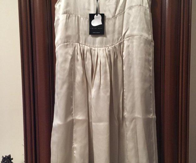 Новое шелковое платье twin set оригинал. Фото 3. Москва.