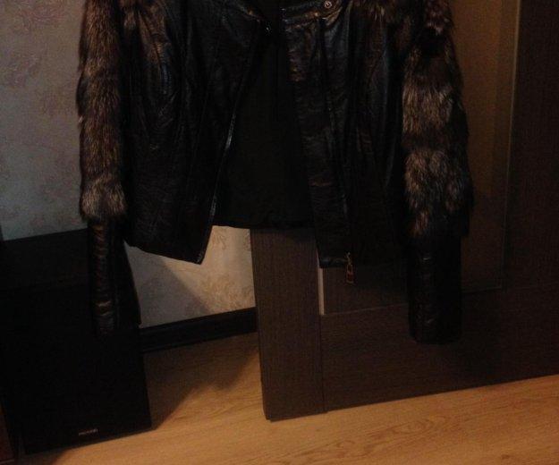Куртка кожаная. Фото 1. Саратов.