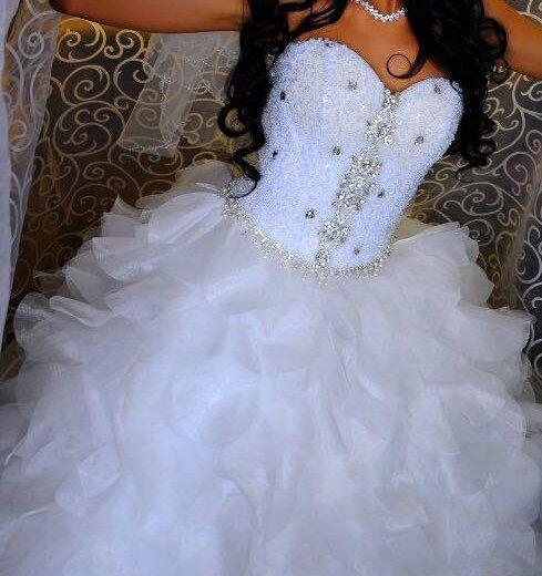 Свадебное платье. торг. Фото 1. Орел.