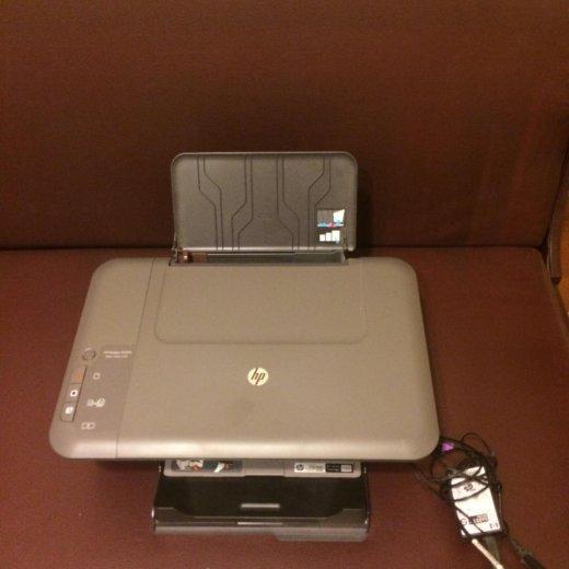 Цветной принтер-сканер hp deskjet 1050a. Фото 2.
