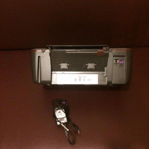 Цветной принтер-сканер hp deskjet 1050a. Фото 1.