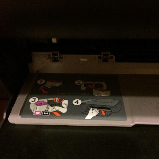Цветной принтер-сканер hp deskjet 1050a. Фото 4.