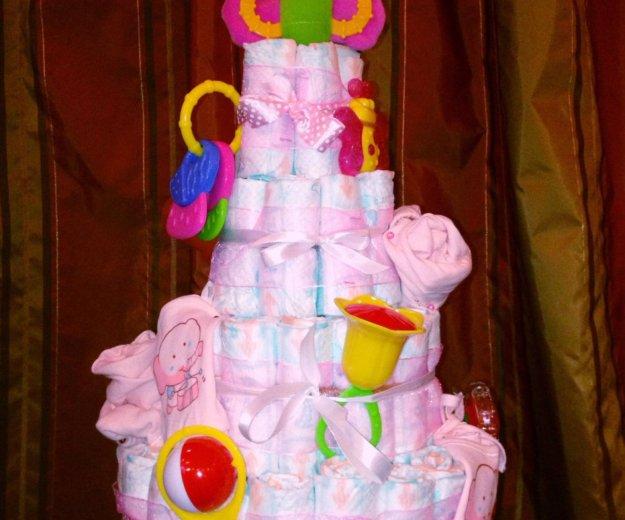 Торт из подгузников. Фото 3. Армавир.
