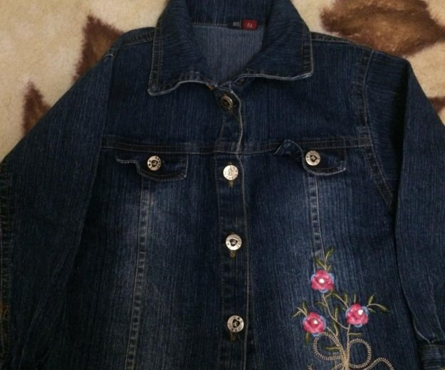 Костюм джинсовый на девочку. Фото 2. Оренбург.
