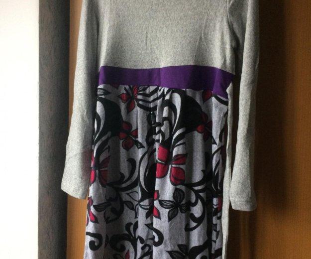 Новое платье тёплое для беременных. Фото 1. Подольск.