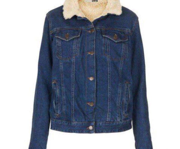 Куртка джинсовая тёплая. Фото 1. Москва.