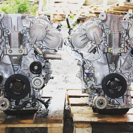 Контрактный двигатель vq35. Фото 1. Томилино.