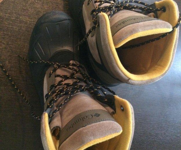 Зимние ботинки columbia. Фото 4.