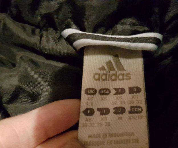 Куртка adidas синтепон с капюшоном. Фото 3. Москва.