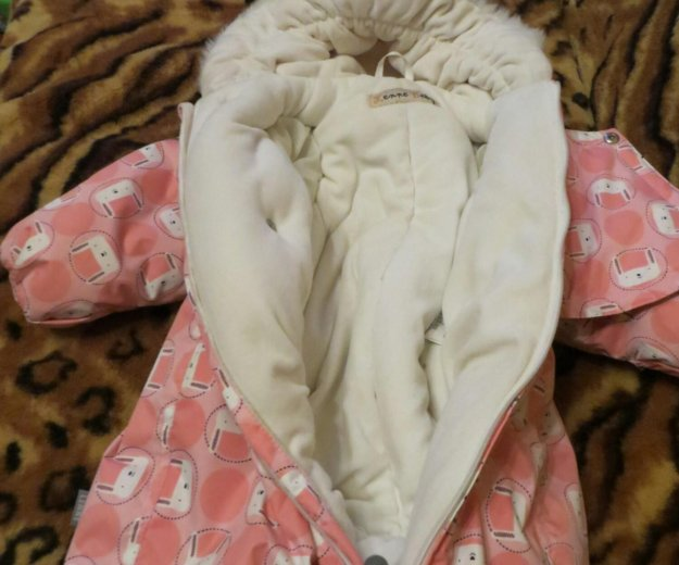 Детский зимний комбинезон lenne baby (размер 68). Фото 2.
