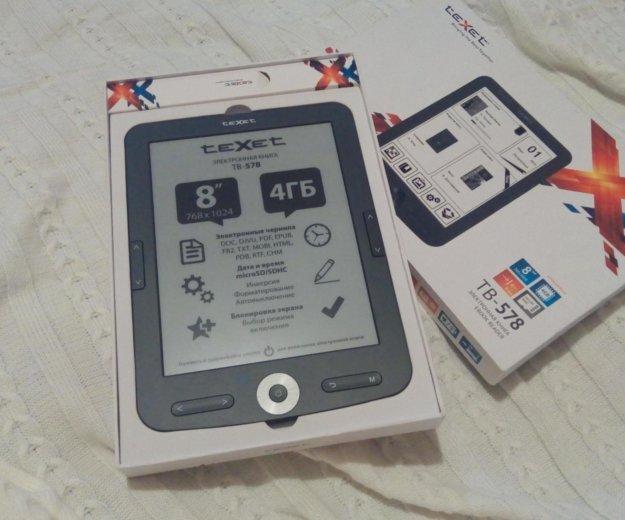 Электронная книга texet tb578 экран e-ink. Фото 1. Сургут.