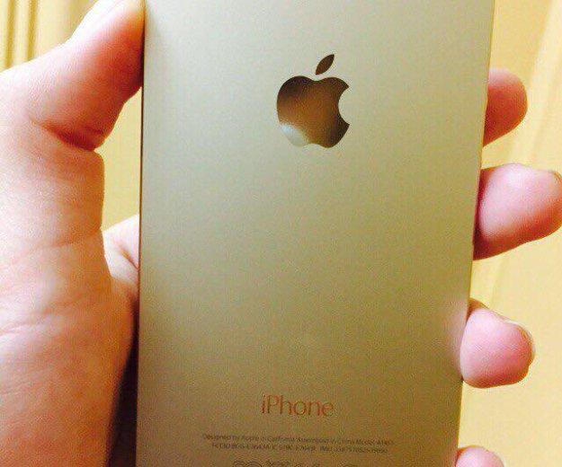 Iphone 5s gold 64gb. Фото 2. Москва.