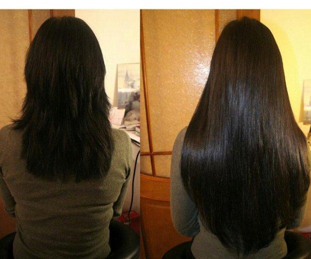 Наращивание волос. Фото 1.