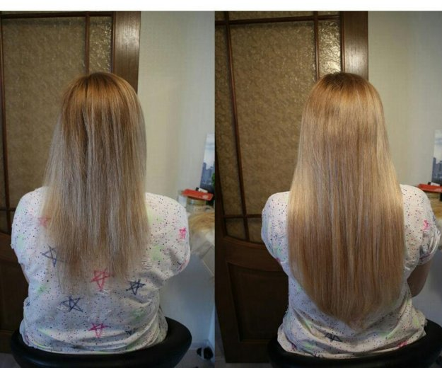 Наращивание волос. Фото 3.