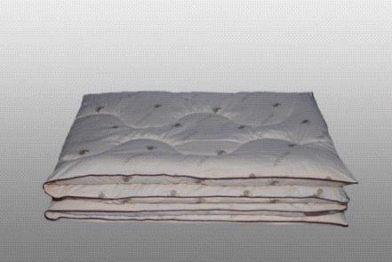 "Одеяло верблюжья шерсть ""сахара"" зимнее. Фото 1."