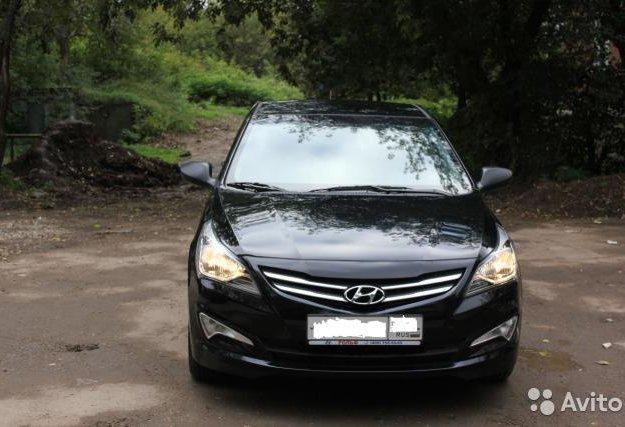 Hyundai solaris. Фото 3. Москва.