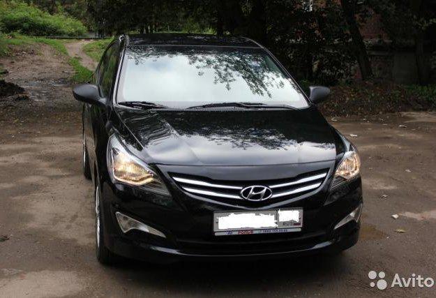 Hyundai solaris. Фото 4. Москва.