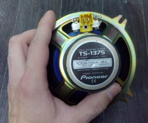 Колонки pioneer 13см. Фото 1. Химки.