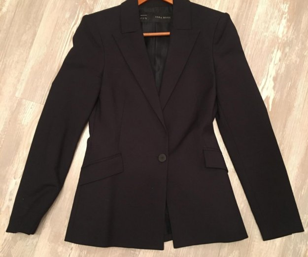 Классический пиджак zara. Фото 1. Москва.