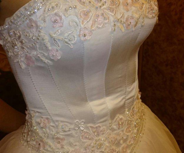 Платье свадебное р42-44. Фото 3. Санкт-Петербург.