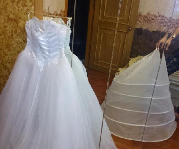 Платье свадебное р42-44. Фото 4. Санкт-Петербург.