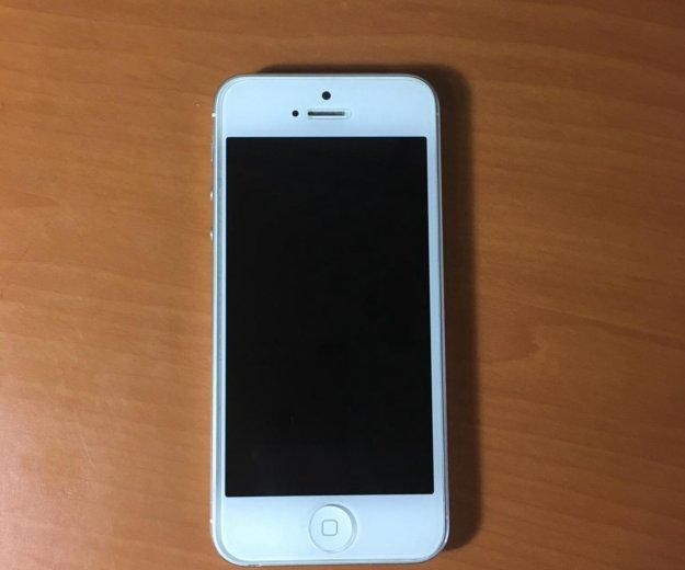 Iphone 5 32gb white. Фото 1. Сергиев Посад.