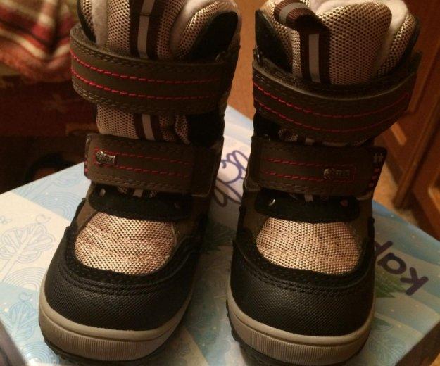 Детские зимние ботинки. Фото 2.