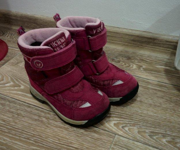 Viking зимние ботинки. Фото 2. Мурманск.