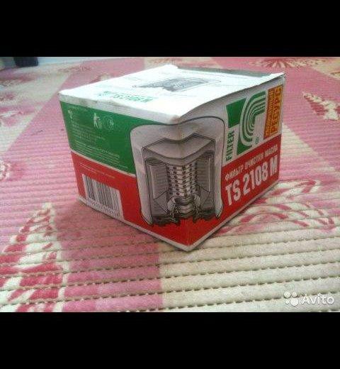 Новый фильтр очистки масла для ваз 21009. Фото 1. Семибратово.