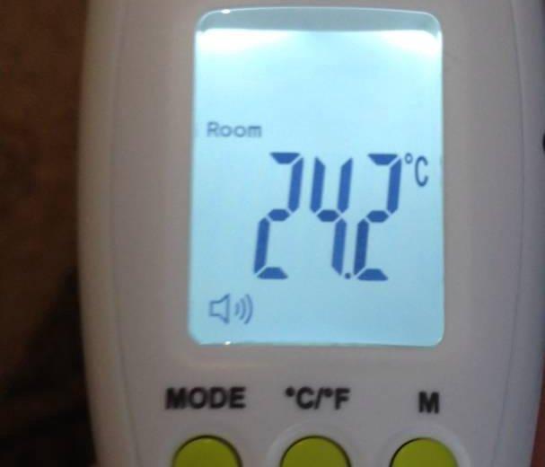 Термометр инфракрасный. Фото 2. Москва.