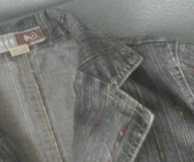 Пиджак джинсовый, турция. Фото 1. Уссурийск.