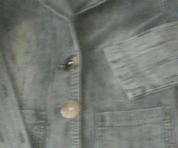 Пиджак джинсовый, турция. Фото 2. Уссурийск.